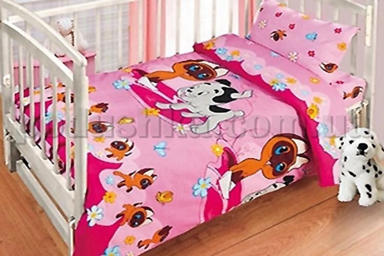 Постельное белье в кроватку Ручеек