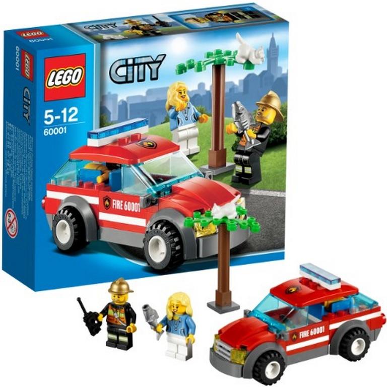 Конструктор Lego Автомобиль пожарного 60001
