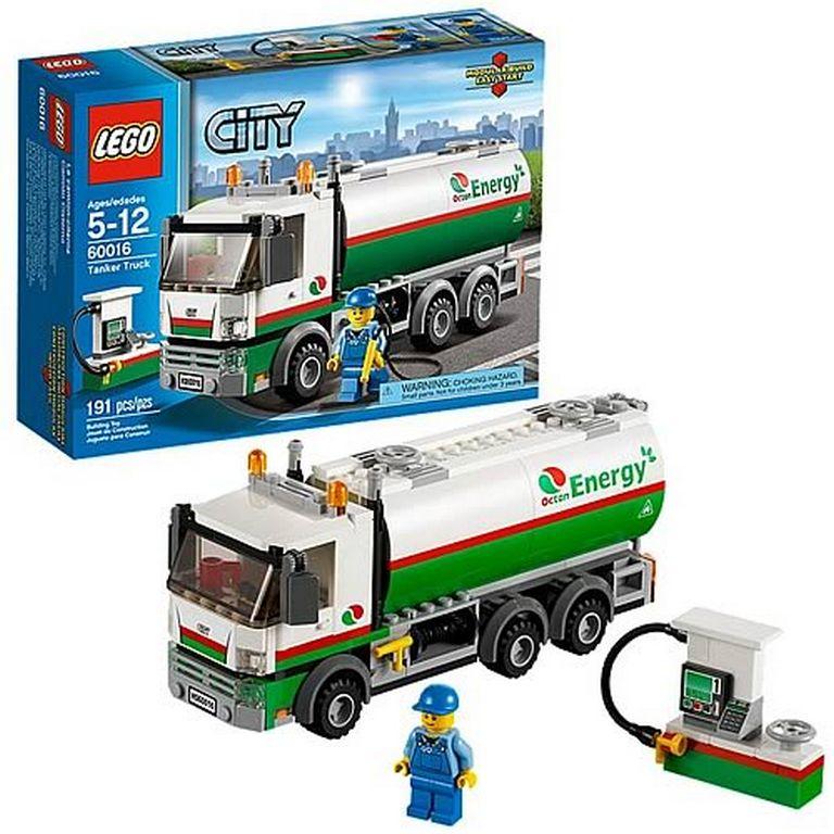 Конструктор Lego Бензовоз 60016