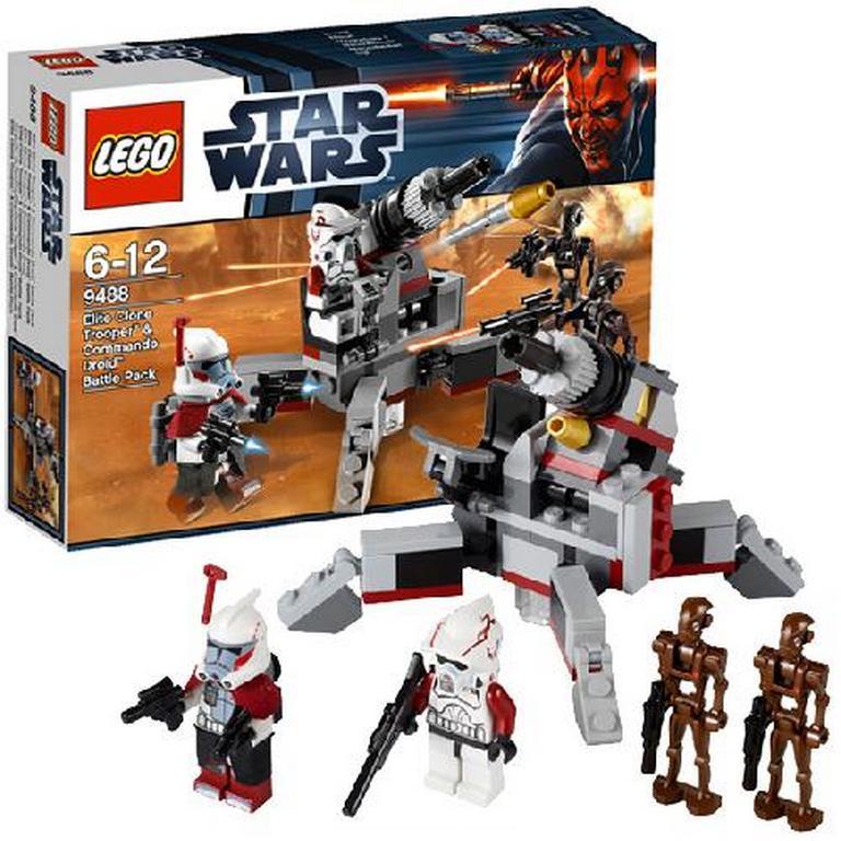 Конструктор Lego Боевой комплект Клонов и дроидов-диверсантов lego-9488