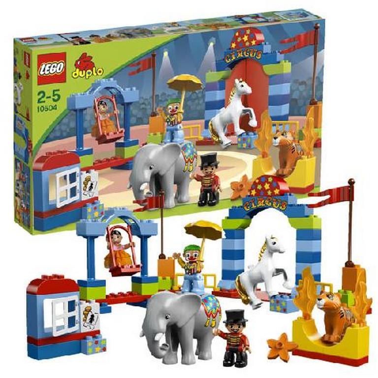 Конструктор Lego Большой цирк 10504