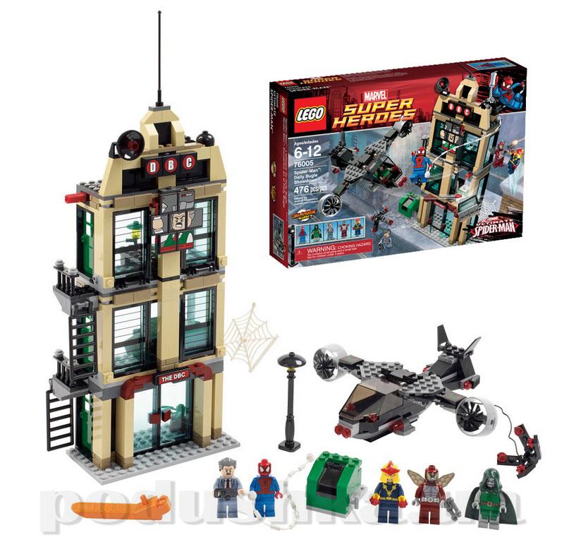 Конструктор Lego Человек-паук - схватка у здания Дэйли Багл 76005