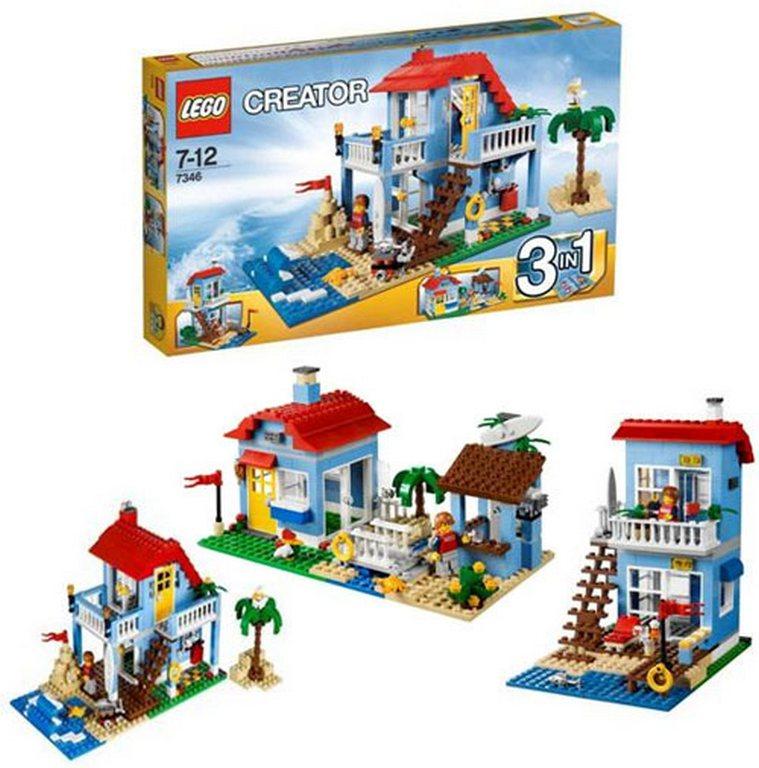 Конструктор Lego Дом на морском побережье lego-7346