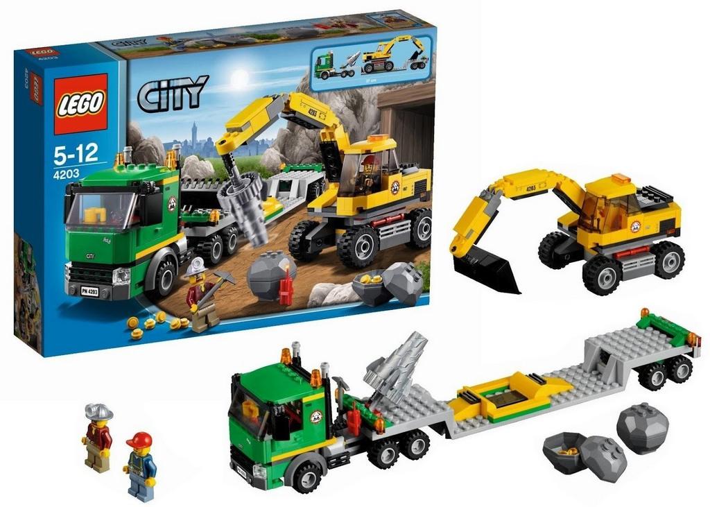 Конструктор Lego Экскаватор lego-4203
