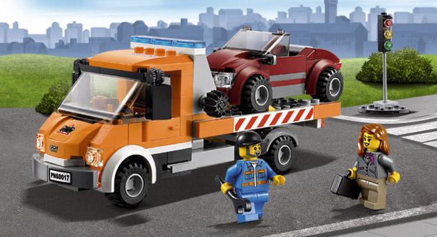 Конструктор Lego Эвакуатор 60017