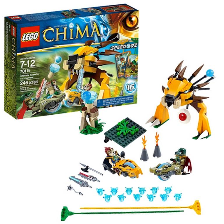 Конструктор Lego Финальный поединок 70115