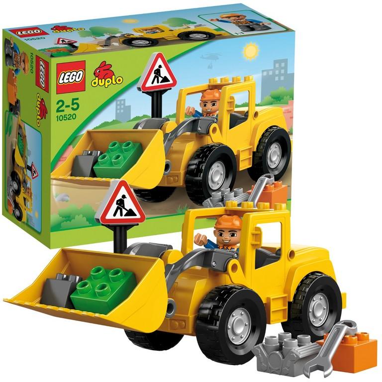 Конструктор Lego Фронтальный погрузчик 10520