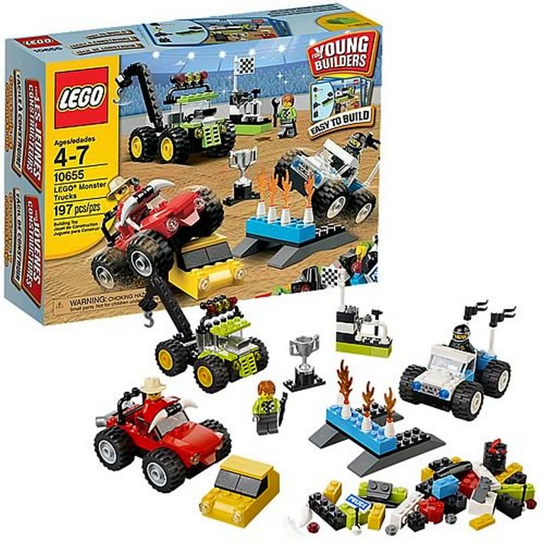 Конструктор Lego Грузовики монстры 10655
