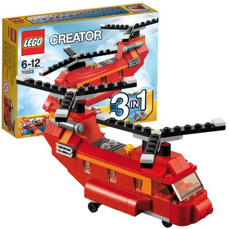 Конструктор Lego Грузовой вертолёт 3 в 1 31003