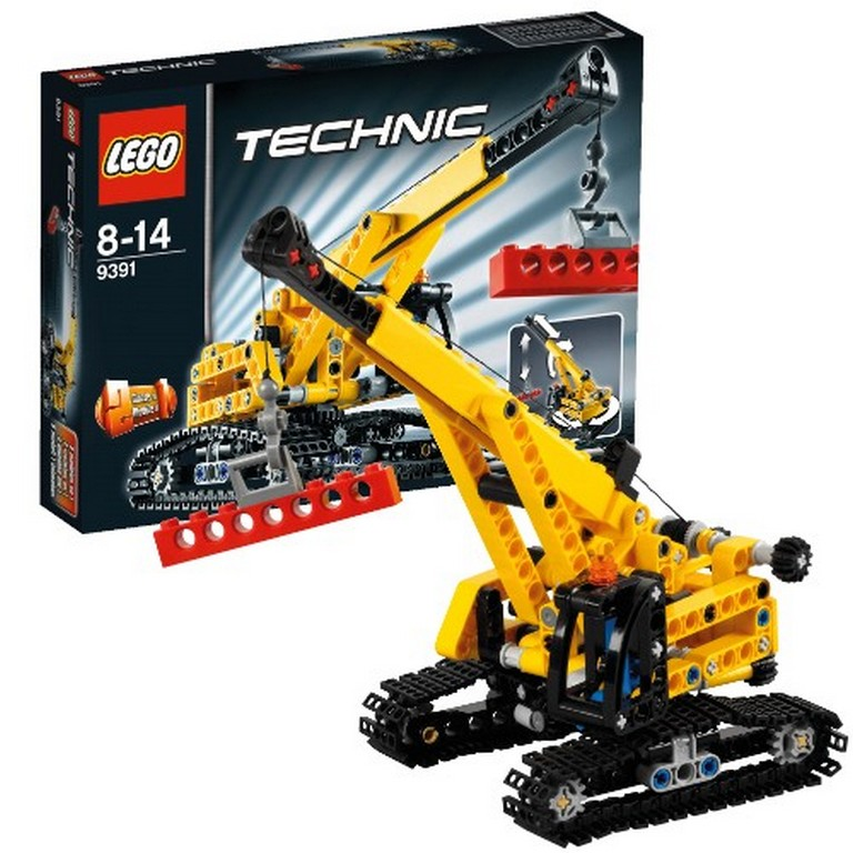 Конструктор Lego Гусеничный кран lego-9391
