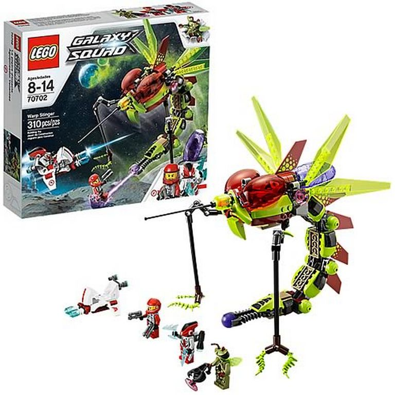 Конструктор Lego Инсектоид захватчик 70702