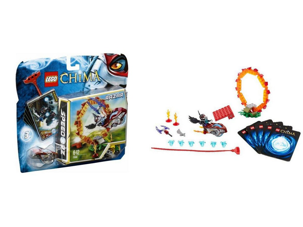 Конструктор Lego Кольцо огня 70100
