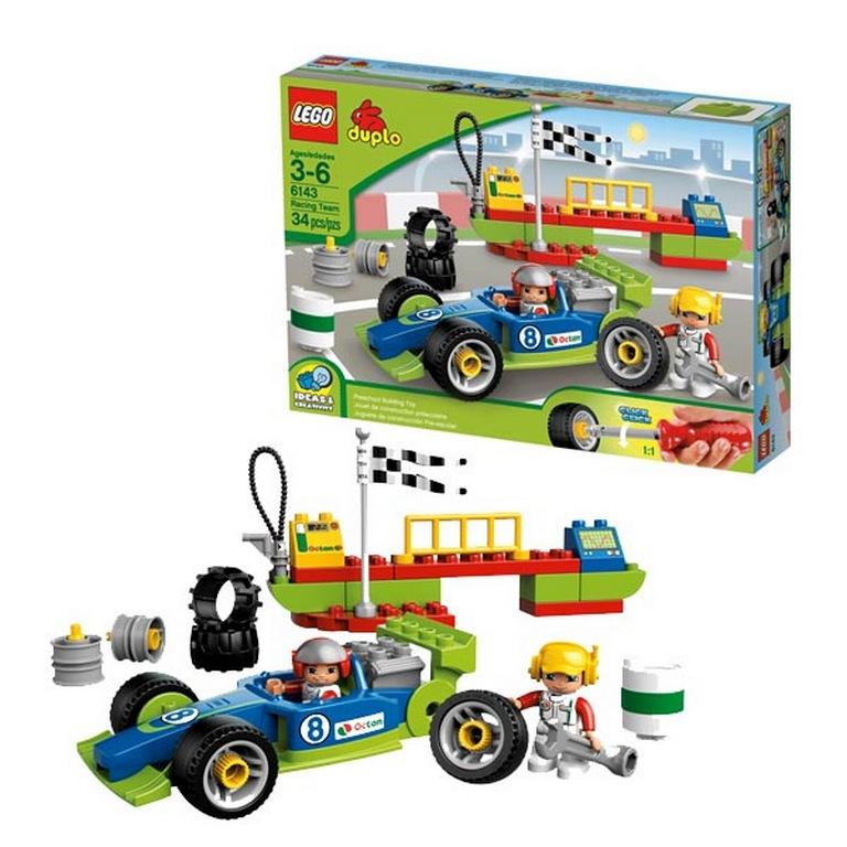 Конструктор Lego Команда гонщиков lego-6143