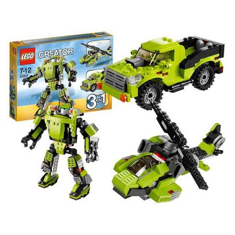 Конструктор Lego Крутой робот 3 в 1 31007
