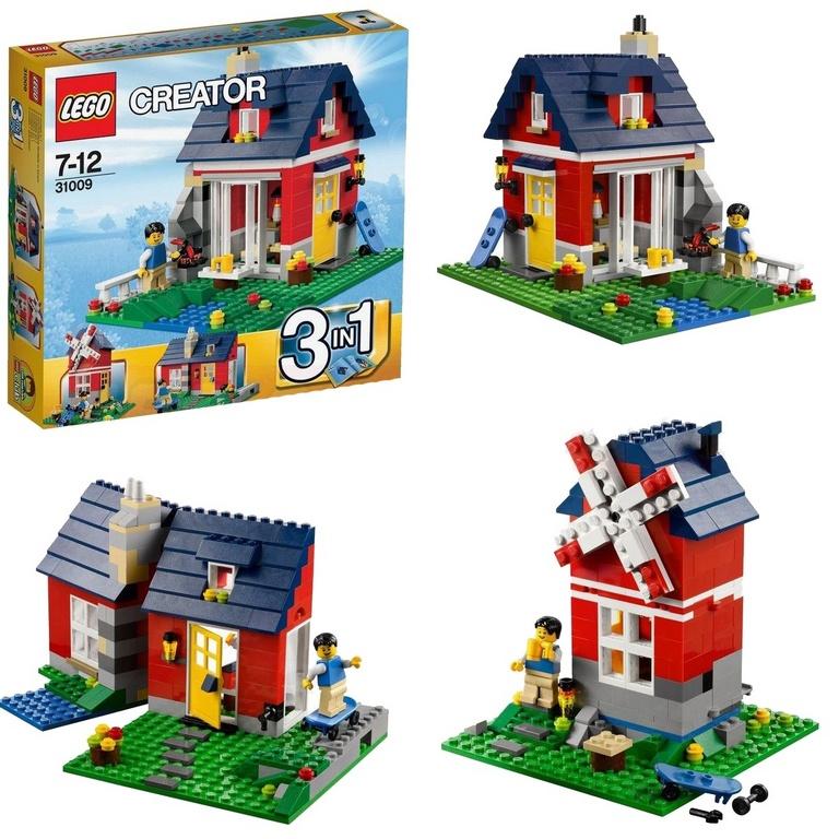 Конструктор Lego Маленький коттедж 31009