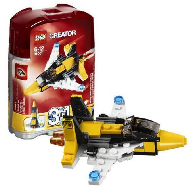 Конструктор Lego Мини самолет 3в1 31001
