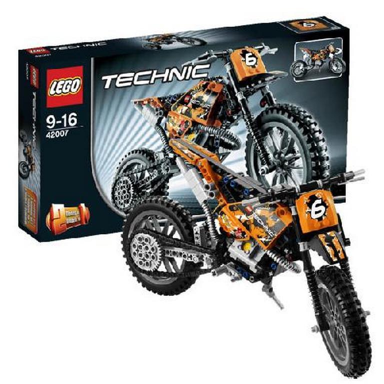 Конструктор Lego Мотокроссовый мотоцикл 42007