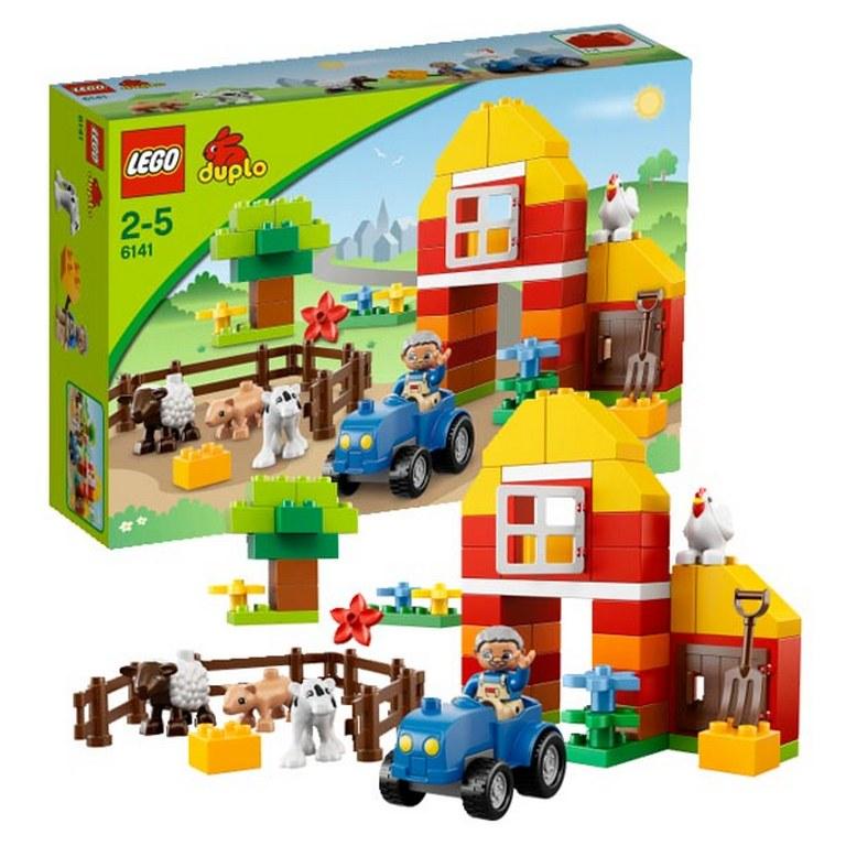 Конструктор Lego Моя первая ферма lego-6141