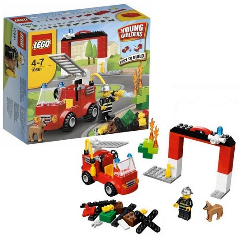 Конструктор Lego Моя первая пожарная станция 10661