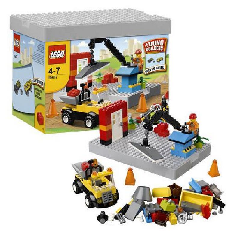 Конструктор Lego Моя первая стройка 10657