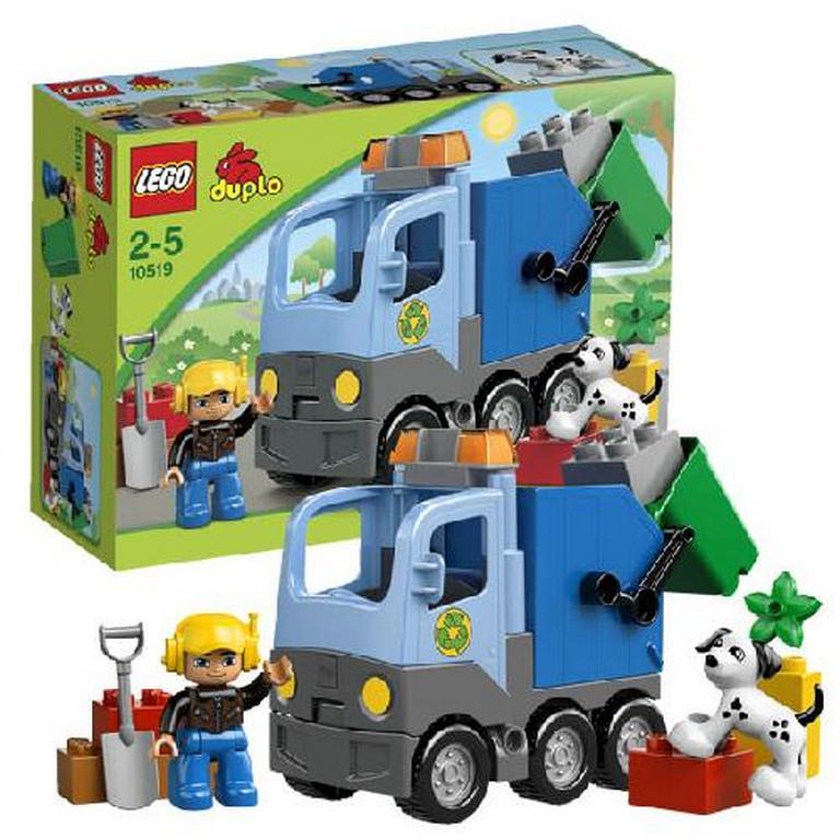 Конструктор Lego Мусоровоз 10519