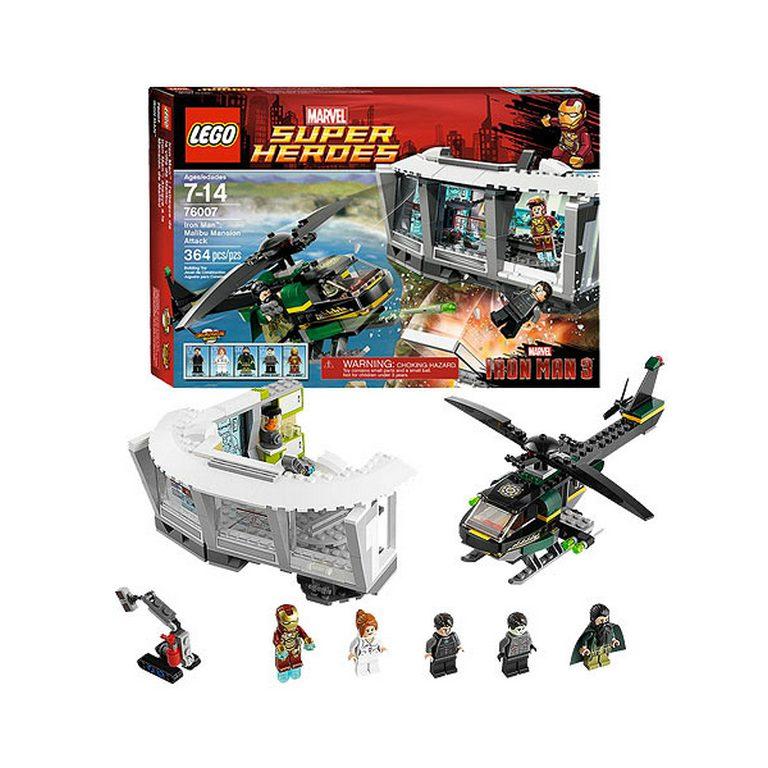 Конструктор Lego Нападение на особняк в Малибу 76007
