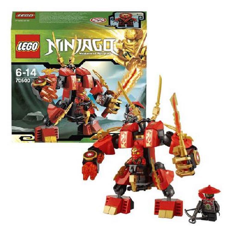 Конструктор Lego Огненный робот Кая 70500