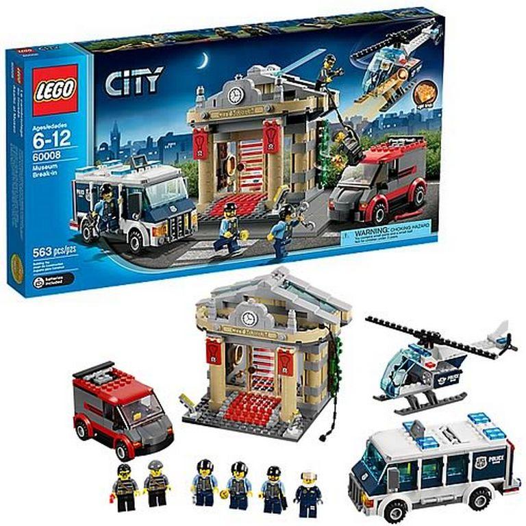 Конструктор Lego Ограбление музея 60008