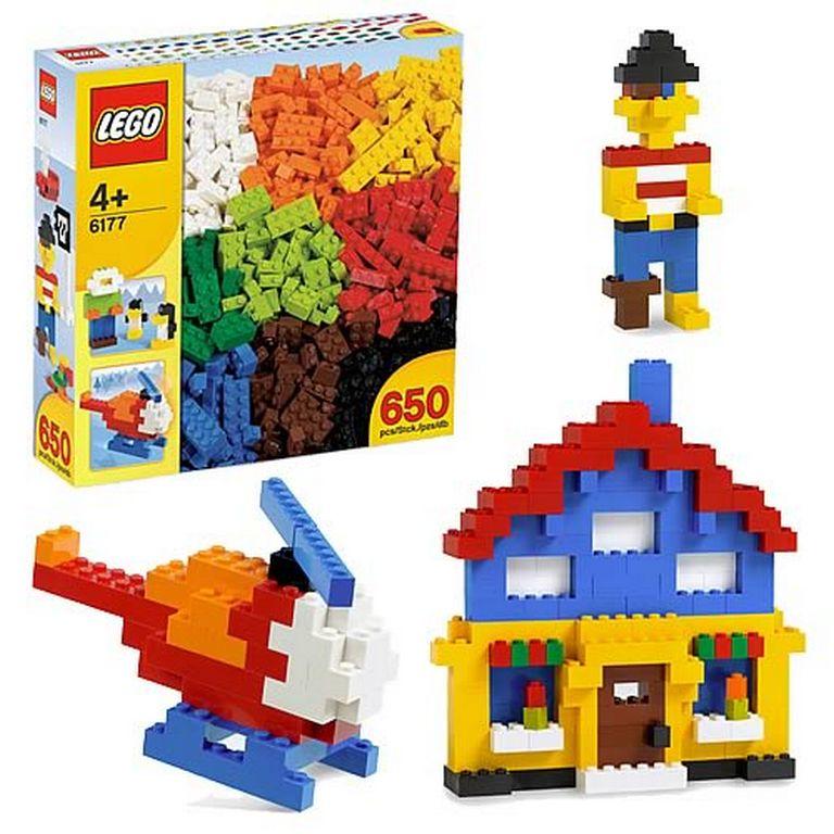 Конструктор Lego Основные элементы lego-6177