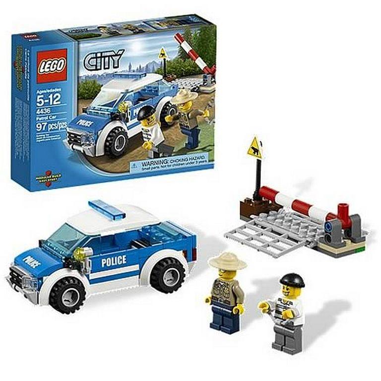Конструктор Lego Патрульная машина полиции lego-4436