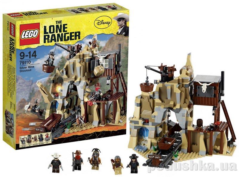 Конструктор Lego Перестрелка у серебряной шахты 79110