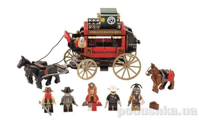 Конструктор Lego Побег на дилижансе 79108