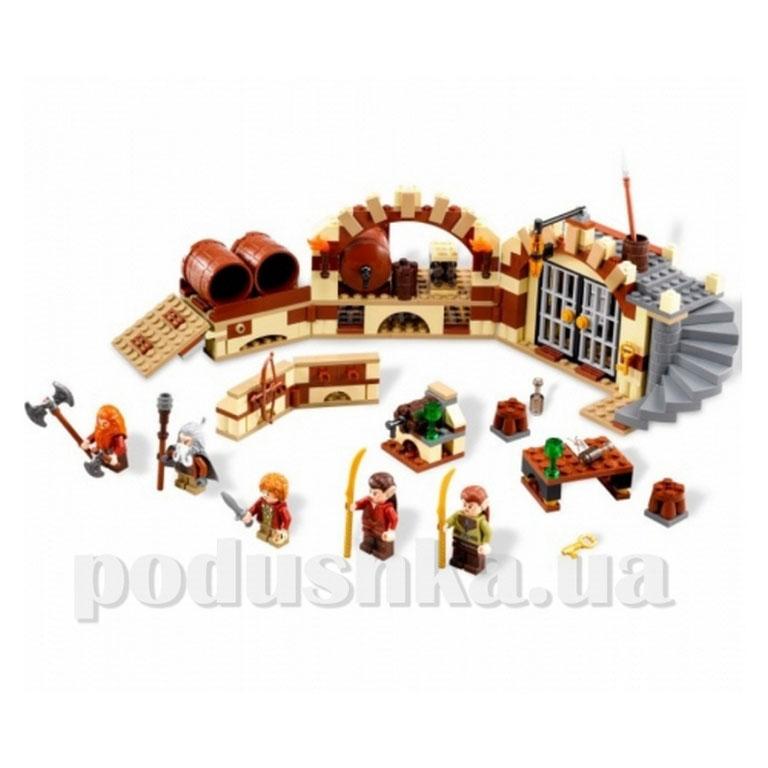 Конструктор Lego Побег в винных бочках 79004