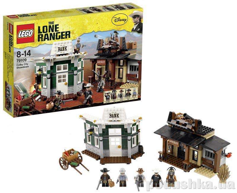 Конструктор Lego Поединок в Колби Сити 79109