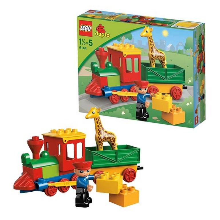 Конструктор Lego Поезд-зоопарк lego-6144
