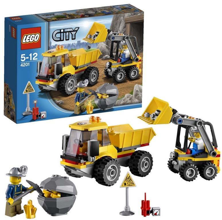 Конструктор Lego Погрузчик и самосвал lego-4201