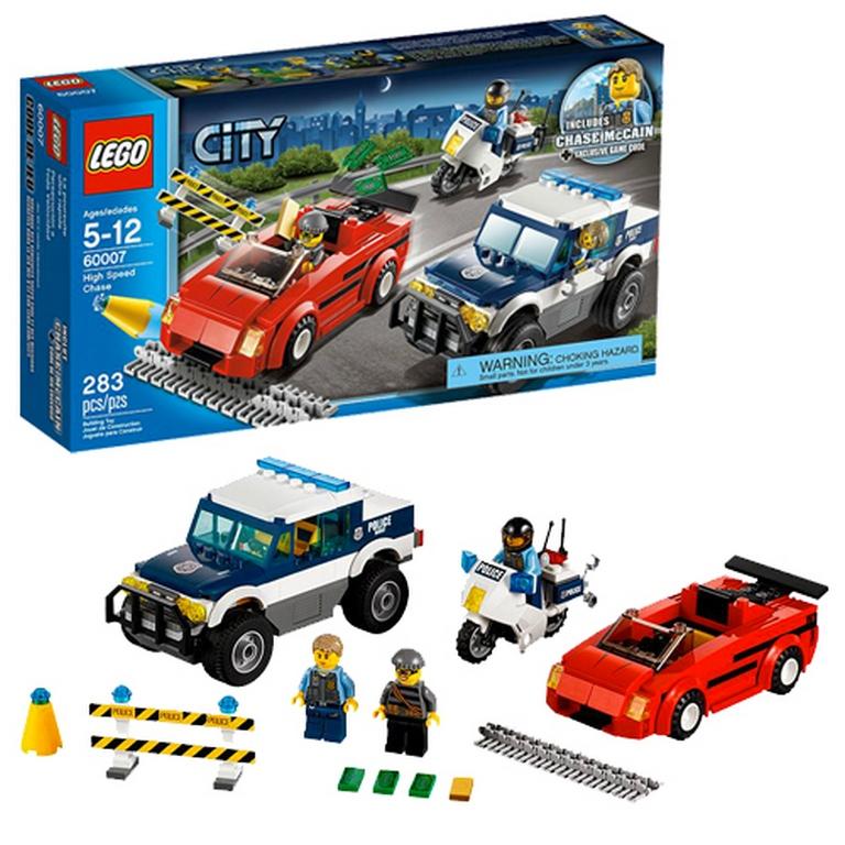 Конструктор Lego Полицейская погоня 60007