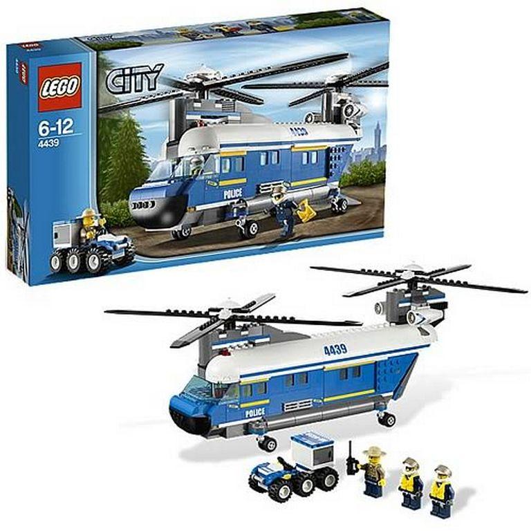 Конструктор Lego Полицейский грузовой вертолет lego-4439
