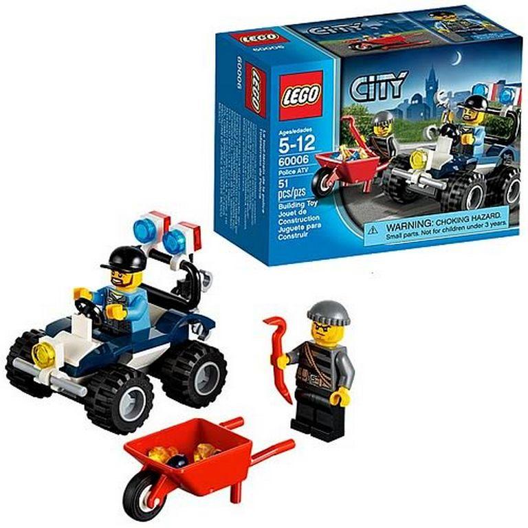 Конструктор Lego Полицейский квадроцикл 60006