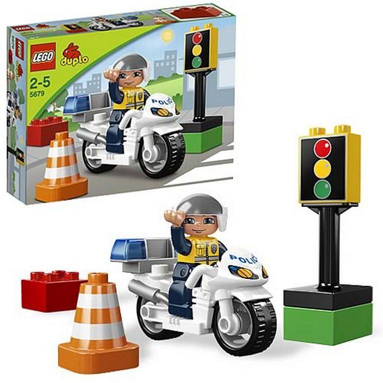Конструктор Lego Полицейский мотоцикл lego-5679