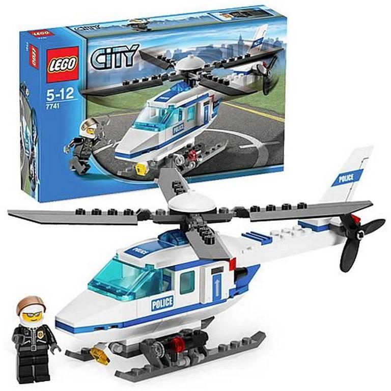 Конструктор Lego Полицейский вертолет lego-7741