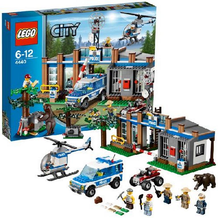 Конструктор Lego Пост лесной полиции lego-4440