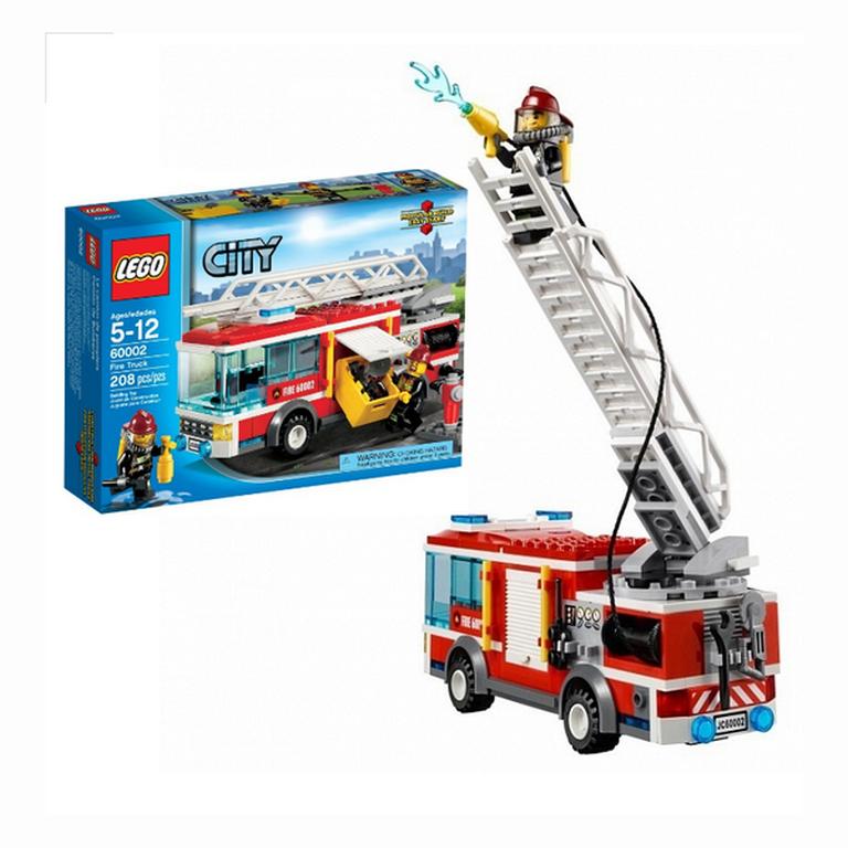 Конструктор Lego Пожарная машина 60002