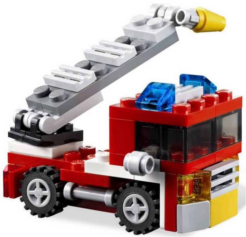 Конструктор Lego Пожарная мини-машина lego-6911