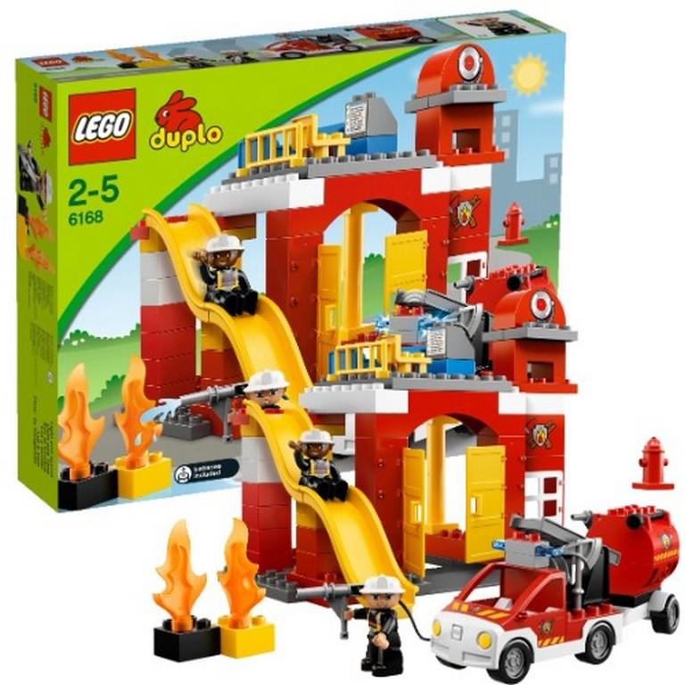 Конструктор Lego Пожарная станция lego-6168