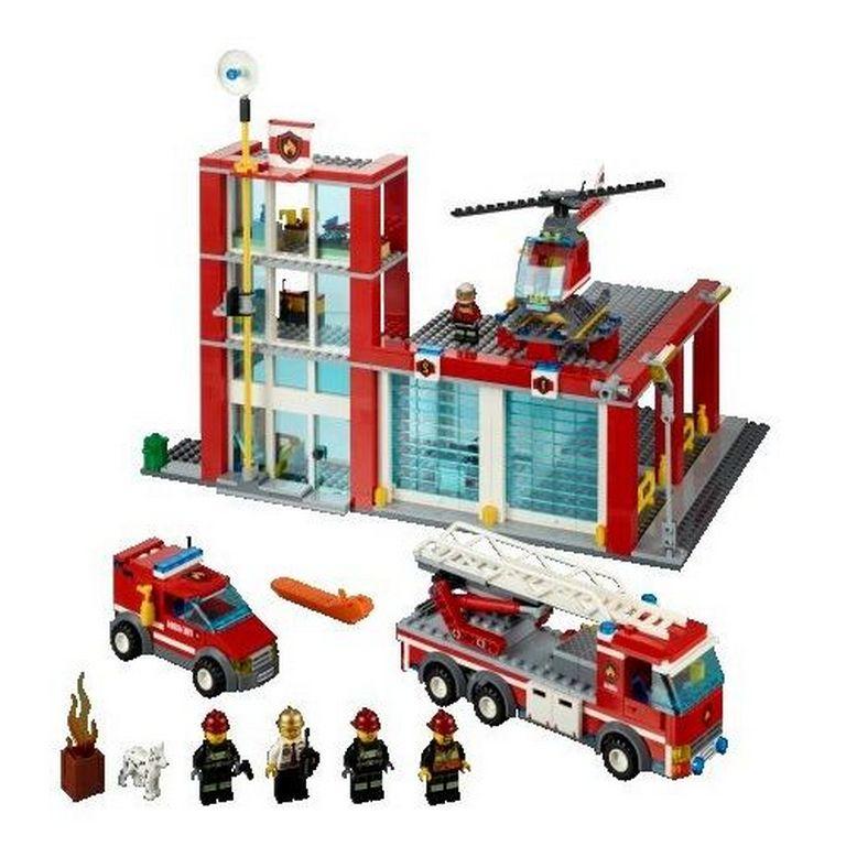Конструктор Lego Пожарное депо 60004
