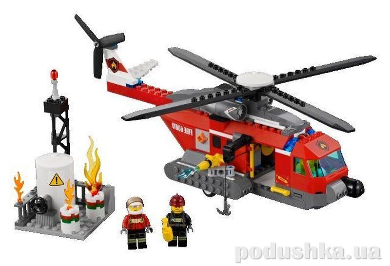 Конструктор Lego Пожарный вертолёт 60010