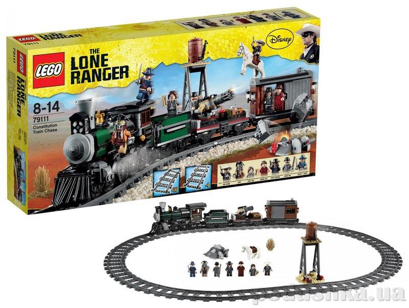Конструктор Lego Преследование федерального поезда 79111