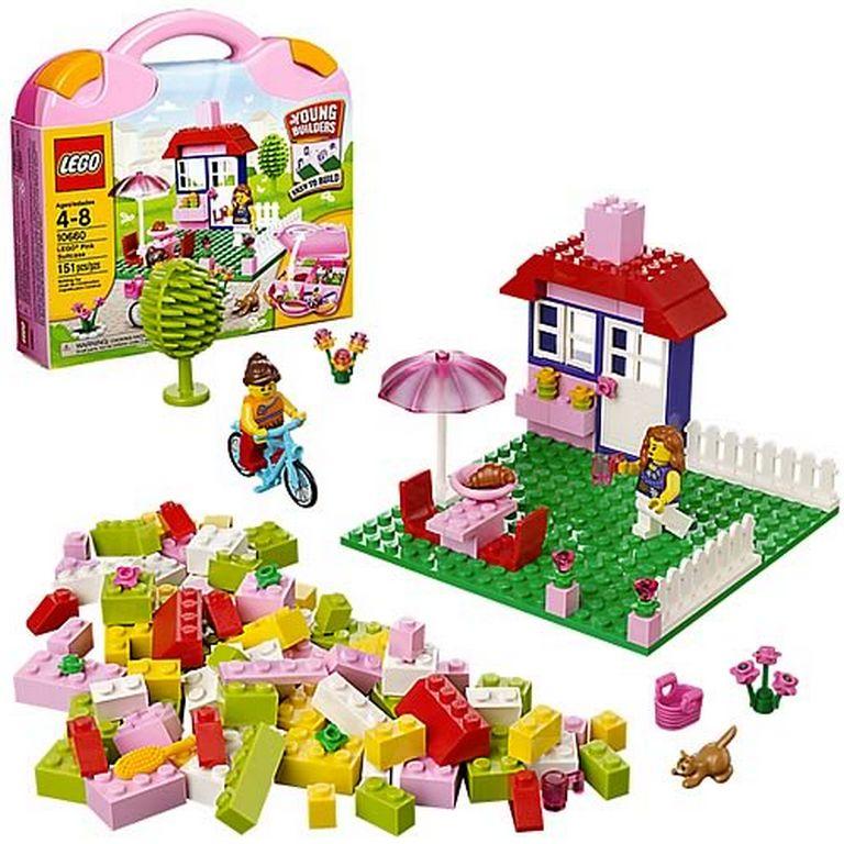 Конструктор Lego Розовая коробка с кубиками 10660