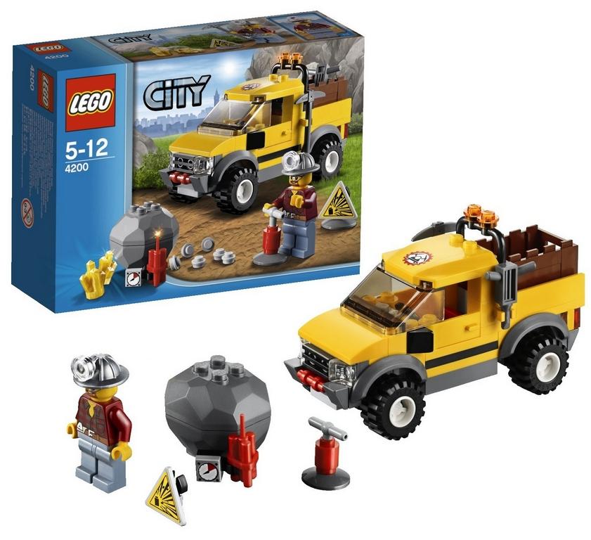 Конструктор Lego Шахтерский внедорожник lego-4200